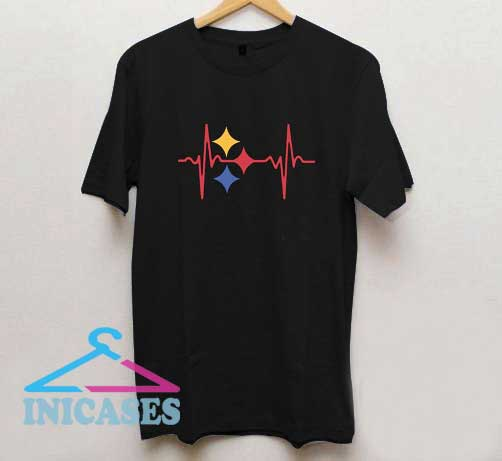 Heartbeat Pittsburgh Steelers T Shirt