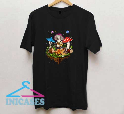 Hippie Magic Mushrooms T Shirt