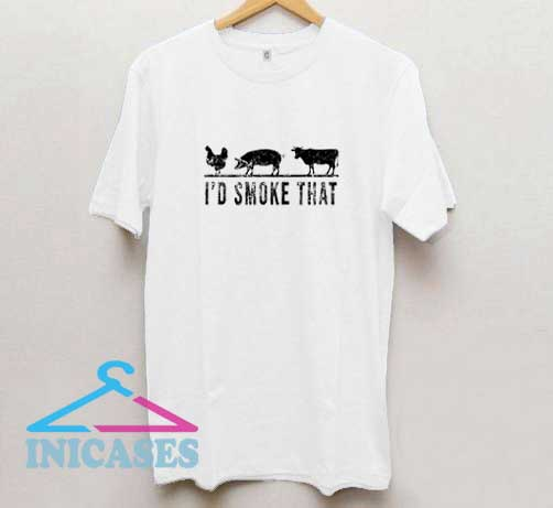 Id Smoke That Graphic T Shirt
