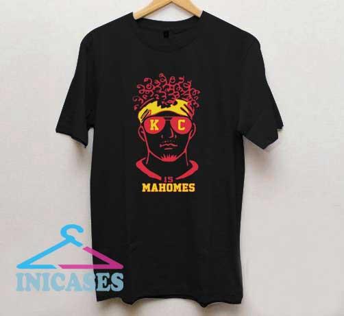 Kansas City Chiefs 15 Mahomes T Shirt