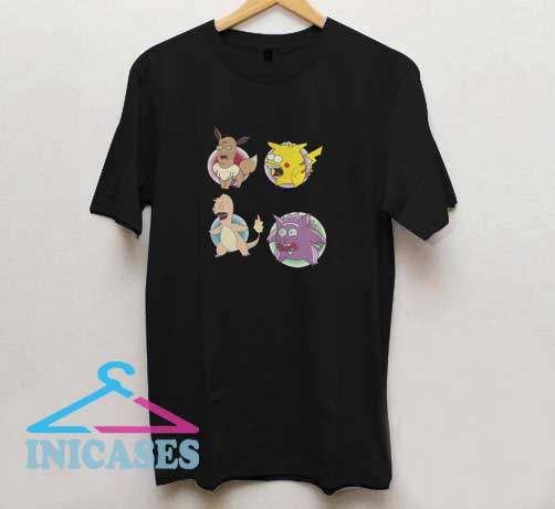 King Of The Hill Pokemon T Shirt