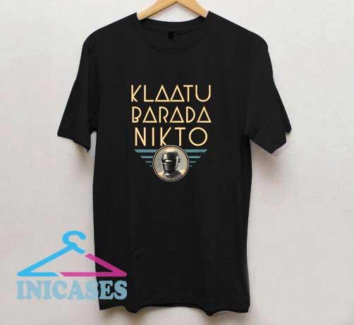 Klaatu Barada Nikto Logo T Shirt