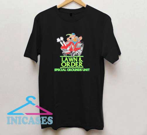 Lawn And Order Graphic T Shirt