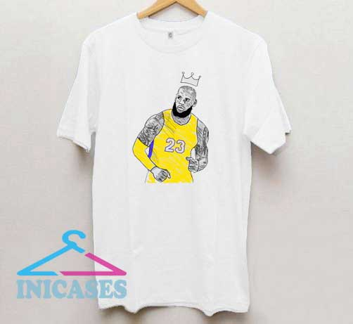 Lebron James Character T Shirt