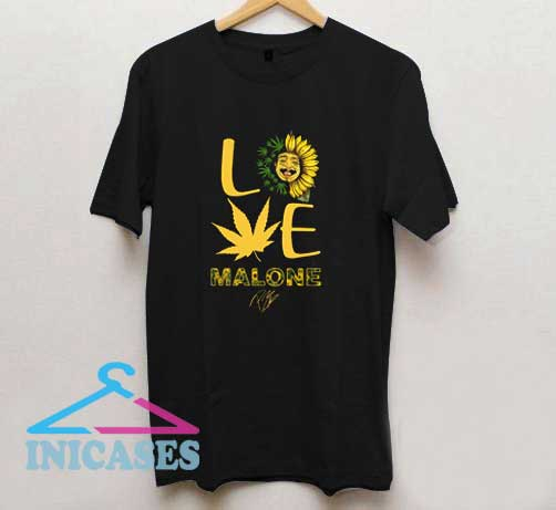 Love Malone Graphic T Shirt