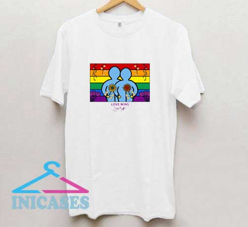 Love Wins LGBT T Shirt