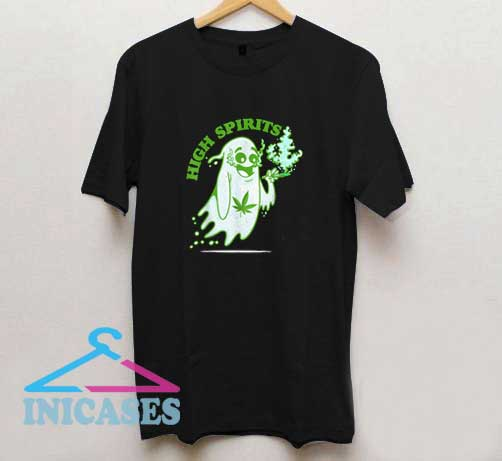 Marijuana High Spirits T Shirt