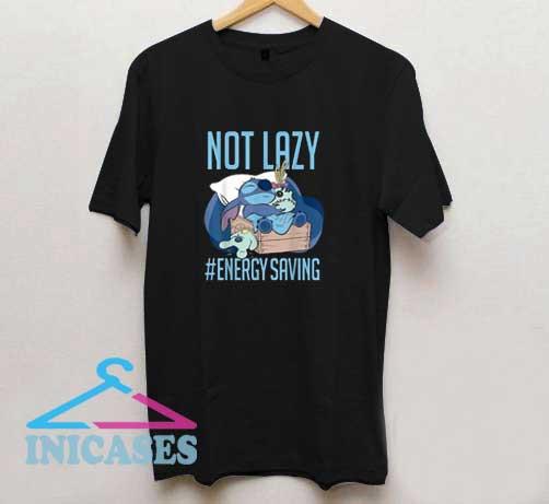 Not Lazy Energy Saving T Shirt