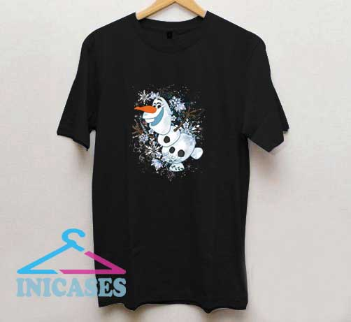 Olaf Dancing In The Snowflakes T Shirt