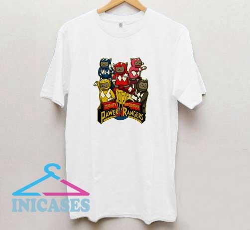 Pawer Rangers T Shirt