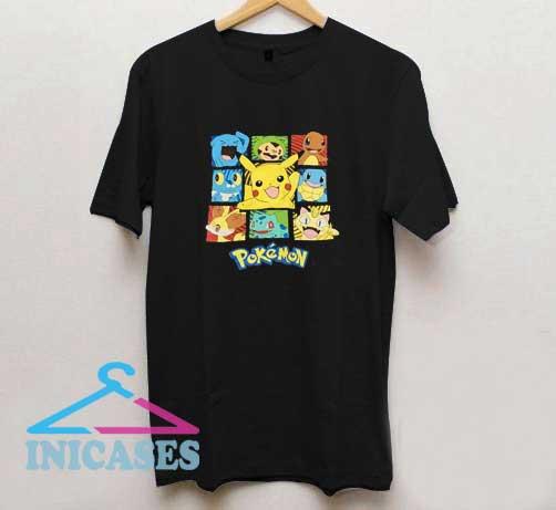 Pokemon Cartoon Graphic T Shirt