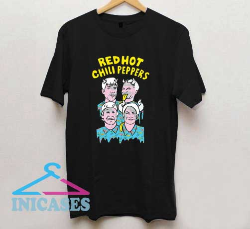 Red Hot Chili Peppers Illustration T Shirt