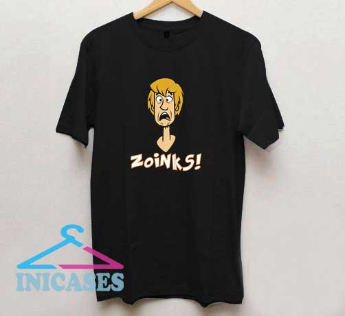 Shaggy Scared Zoinks T Shirt