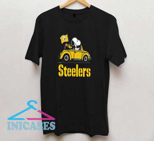 Snoopy Pittsburgh Steelers T Shirt
