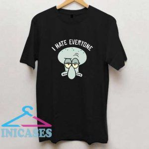 Squidward I Hate Everyone T Shirt