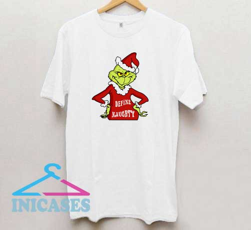 The Grinch Naughty Grinch T Shirt