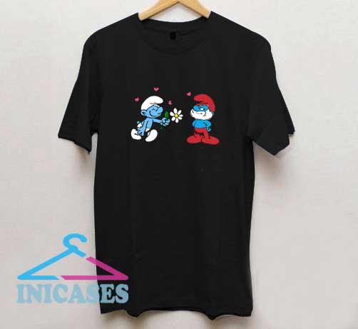 The Smurfs Flower T Shirt