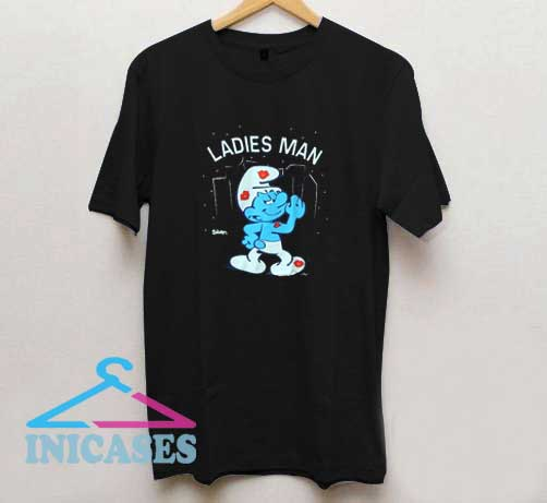 The Smurfs Ladies Man T Shirt