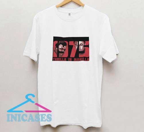 Thrilla In Manilla 1975 T Shirt