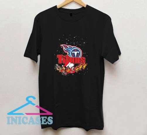 Titans Snoopy Christmas T Shirt