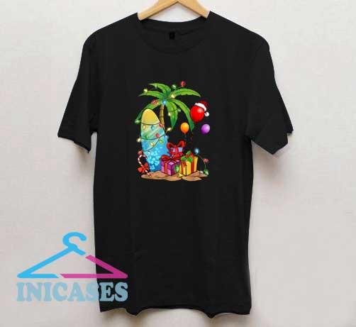 Tropical Christmas T Shirt