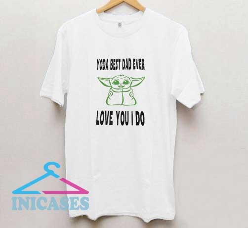 Yoda Love You I Do T Shirt