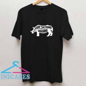 Save the Chubby Unicorns Funny T Shirt